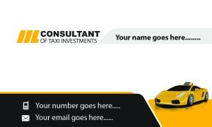 professional consultant card